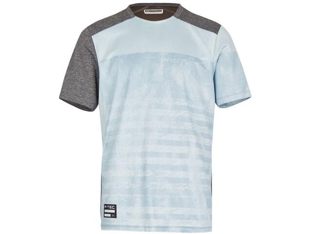 Protective Live & Loud T-Shirt Herren grey melange